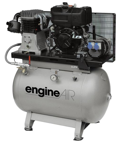 Бензиновый компрессор ABAC EngineAIR B4900/270 7HP  бензиновый компрессор abac engineair b4900 270 7hp