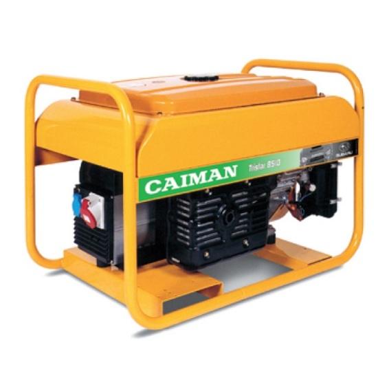 Генератор бензиновый Caiman Tristar 8510MTXL27  генератор бензиновый caiman expert 5010x