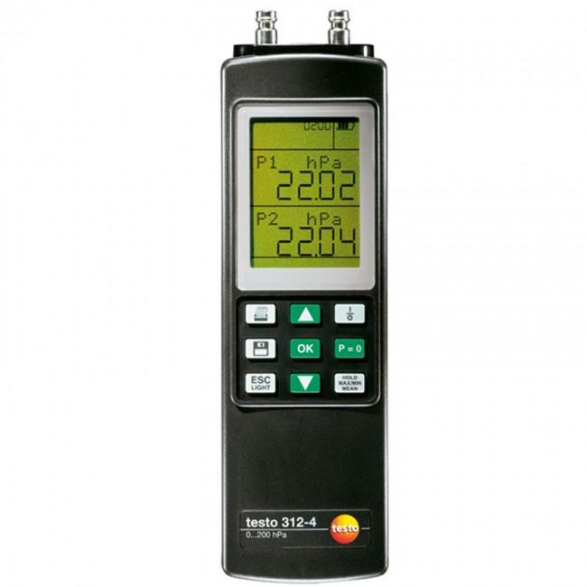 Переносной манометр Testo 312-4  переносной манометр testo 312 4