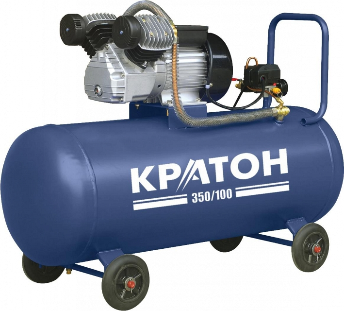 Поршневой компрессор КРАТОН AC 350/100  поршневой компрессор кратон ac 350 40