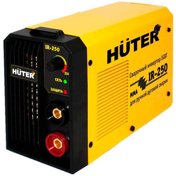 Подробнее о Сварочный инверторный аппарат Huter R-250 сварочный аппарат