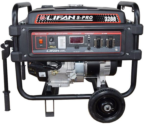 Бензиновый генератор Lifan S-Pro SP 3200  бензиновый генератор автомат lifan 5gf 5a