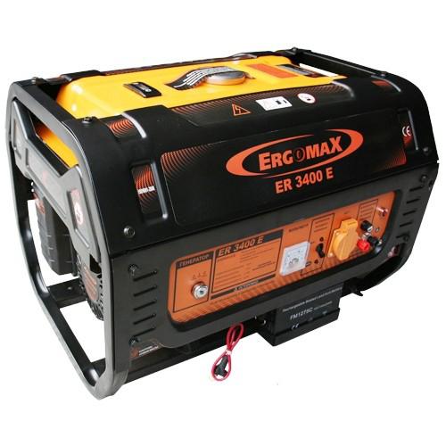 Генератор бензиновый Ergomax ER 3400E  комплект ergomax для er 2800 3400