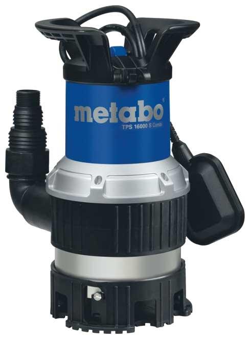 Насос погружной Metabo TPS 16000 S Combi  насос погружной metabo tpf 7000 s