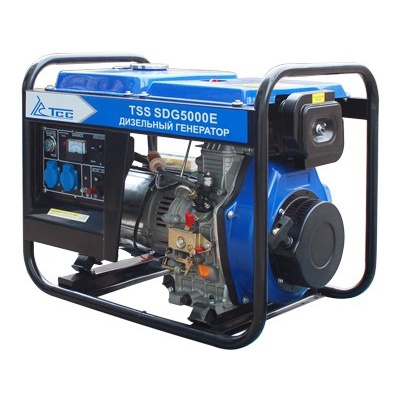 Дизельный генератор  трехфазный ТСС SDG 5000E3  дизельный генератор трехфазный тсс sdg 5000eн3