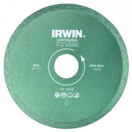 Диск по керамике IRWIN 150mm / 25,4 f образная струбцина 80х250мм кобальт 244 568
