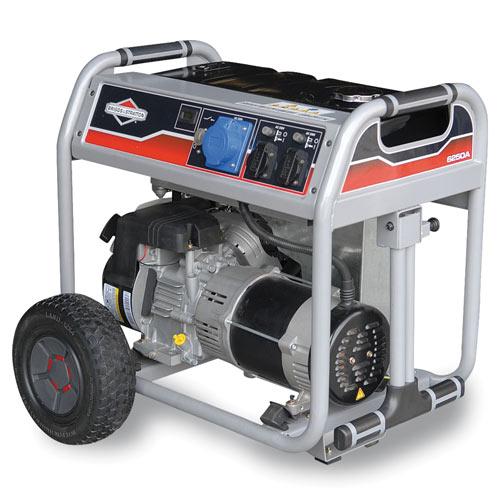 Генератор бензиновый Briggs&Stratton 6250A  генератор бензиновый briggs