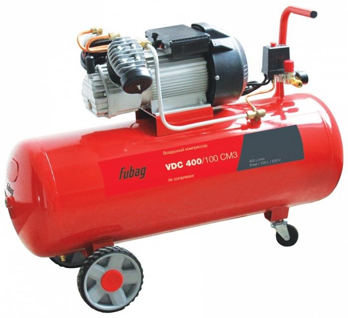 Компрессор воздушный FUBAG VDС 400/100 CM3  компрессор fubag b3600b 100 cm3