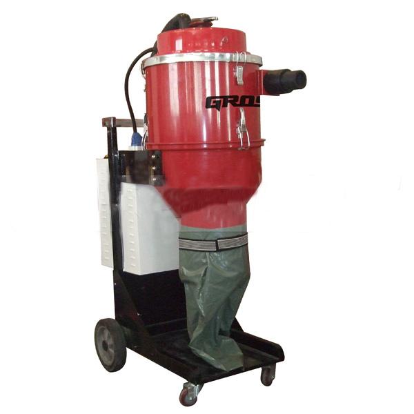 Промышленный пылесос GROST IVC4000-3  пылесос промышленный aeg ap2 200 elcp