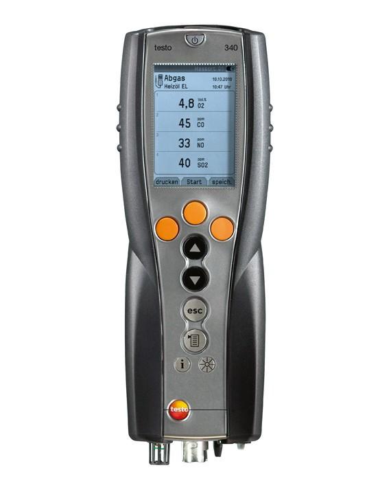 Газоанализатор Testo 340 NO2  газоанализатор утечек газа testo 317 2