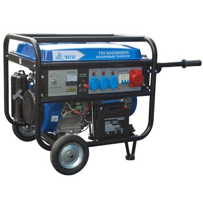 Генератор бензиновый трехфазный TSS SGG 5600EH3  бензиновый отбойный молоток тсс tss gjh95 207000
