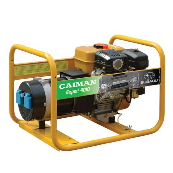 Подробнее о Генератор бензиновый Caiman Expert 4010X генератор