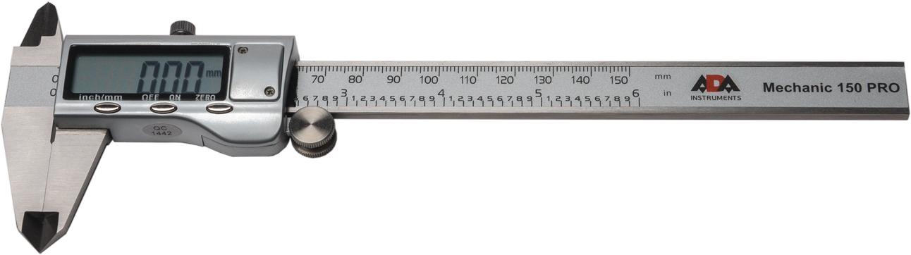 Электронный штангенциркуль ADA Mechanic 150 Pro