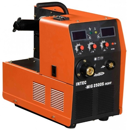 Сварочный полуавтомат Redbo INTEC MIG 2500S какой лучше сварочный полуавтомат по алюминию
