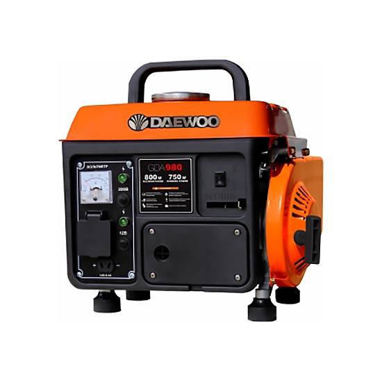 Генератор бензиновый DAEWOO GDA 980  генератор бензиновый daewoo gda 2300
