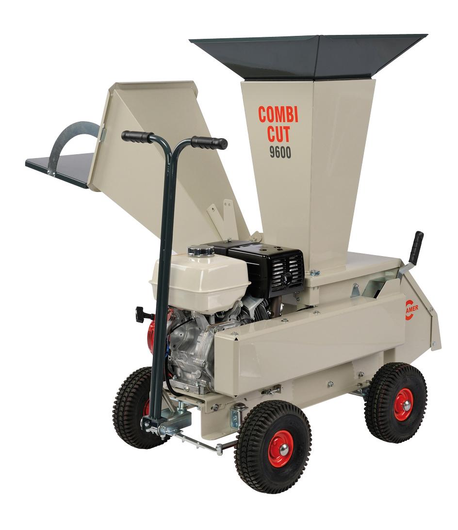 Профессиональный садовый измельчитель Cramer COMBI CUT 9600  профессиональный садовый измельчитель cramer summertime 2100