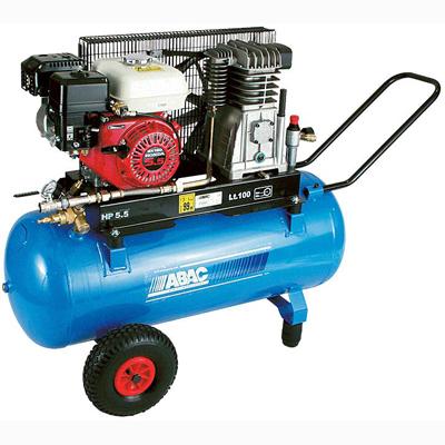 Бензиновый компрессор ABAC EngineAIR А39B/100 5HP  бензиновый компрессор abac engineair b4900 270 7hp