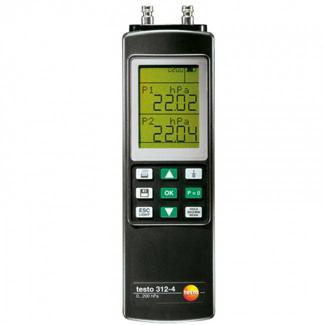 Комплект Testo 312-4 для измерения высокого давления  переносной манометр testo 312 4