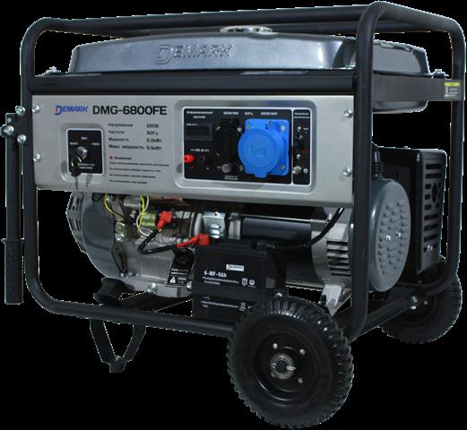 Бензиновый генератор DEMARK DMG 6800FE  бензиновый генератор demark dmg 6800f