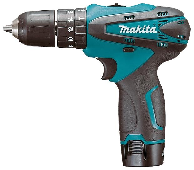 Шуруповерт ударный аккумуляторный Makita HP330DZ  аккумуляторный ударный шуруповерт makita td090dwe