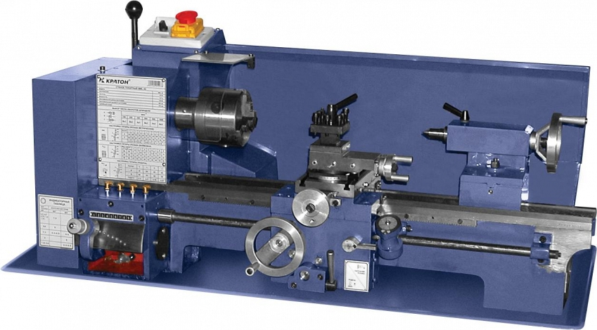 Токарный станок по металлу КРАТОН MML-02  токарный станок по металлу jet bd 6 50001010m