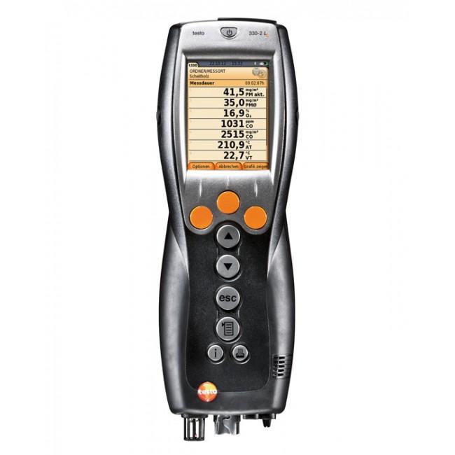 Газоанализатор Testo 330-2 LL c цветным дисплеем  газоанализатор утечек газа testo 317 2