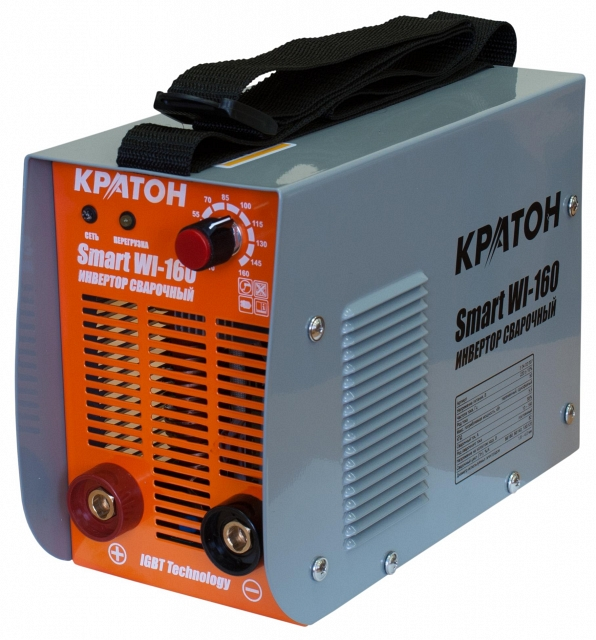 Сварочный инвертор КРАТОН Smart WI-160 кратон smart wi 180