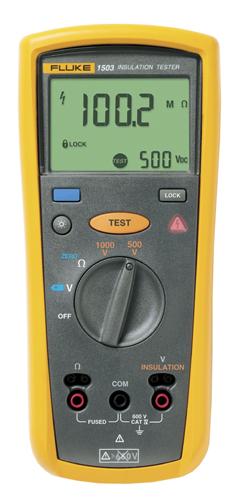 Измеритель сопротивления изоляции FLUKE 1503  измеритель сопротивления изоляции fluke 1503