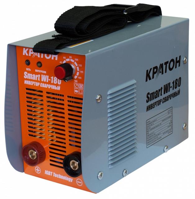 Сварочный инвертор КРАТОН Smart WI-180 кратон smart wi 180