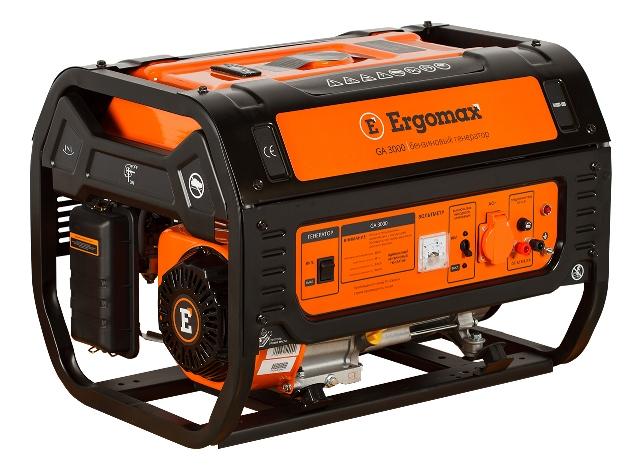 Генератор бензиновый Ergomax GA 3000  бензиновый генератор ergomax ga 1200 00000092334