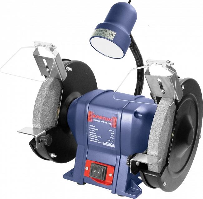 Точильный станок КРАТОН BG 350/200 L точильный станок кратон bg 14 13