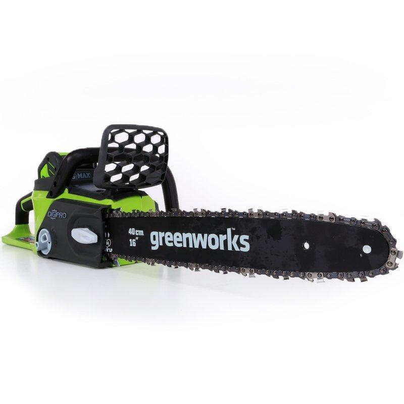 Аккумуляторная пила GreenWorks GD40CS40  аккумуляторная пила greenworks g24csk2