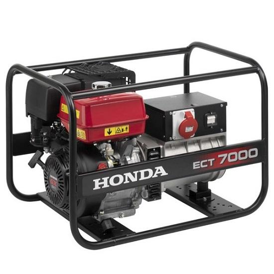 Подробнее о Генератор бензиновый Honda ECT7000К1 RG генератор бензиновый honda em10000k1 rg