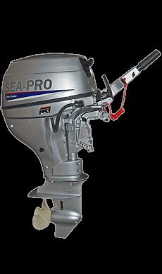 Четырехтактный лодочный мотор Sea-Pro F 9.9S подвесной лодочный мотор б у купить в петербурге
