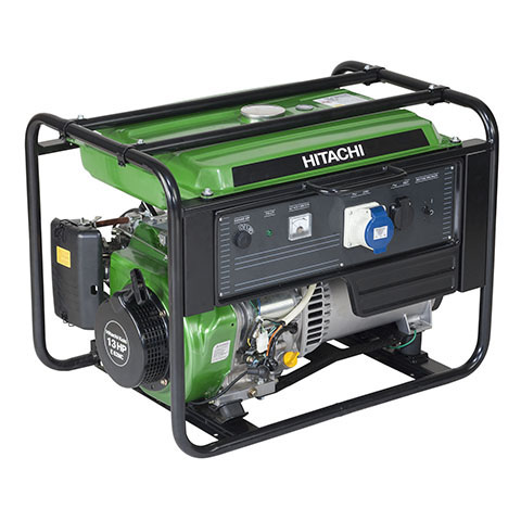 Hitachi E62MC бензиновый генератор  hitachi e62mc бензиновый генератор