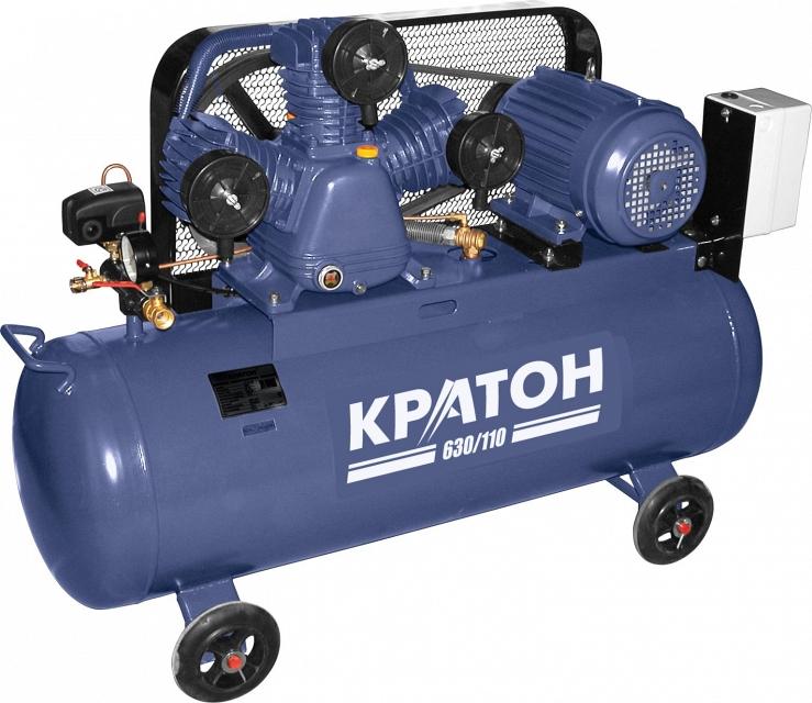 Поршневой компрессор КРАТОН AC-630/110  поршневой компрессор кратон ac 630 110