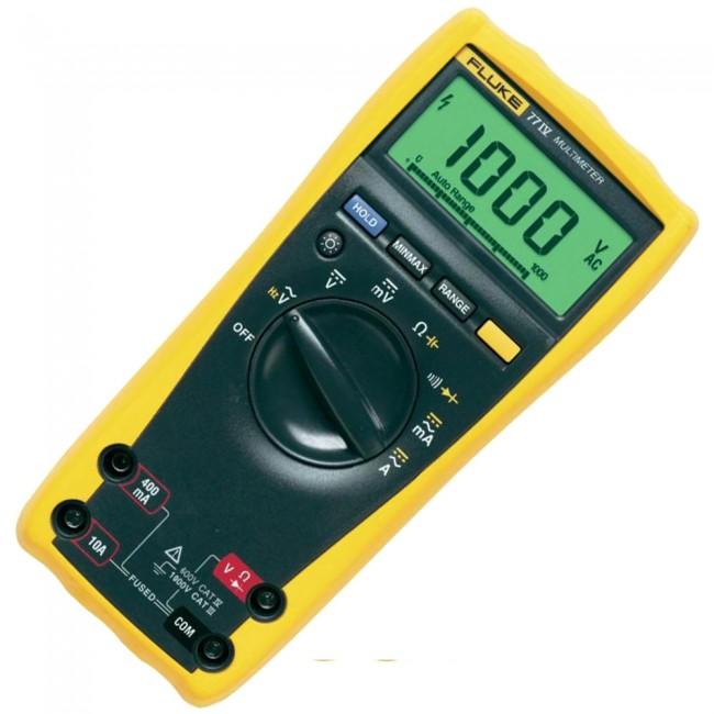 Мультиметр / вольтметр Fluke 77-4/EUR  мультиметр sinometer nb4000p 4