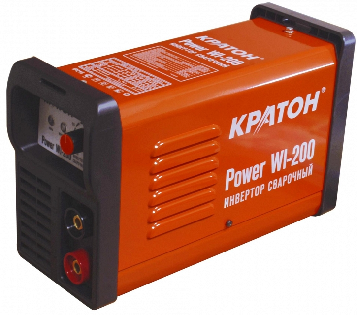 Сварочный инвертор КРАТОН Power WI-200 кратон smart wi 200