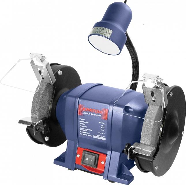 Точильный станок КРАТОН BG 250/150 L точильный станок кратон bg 14 13