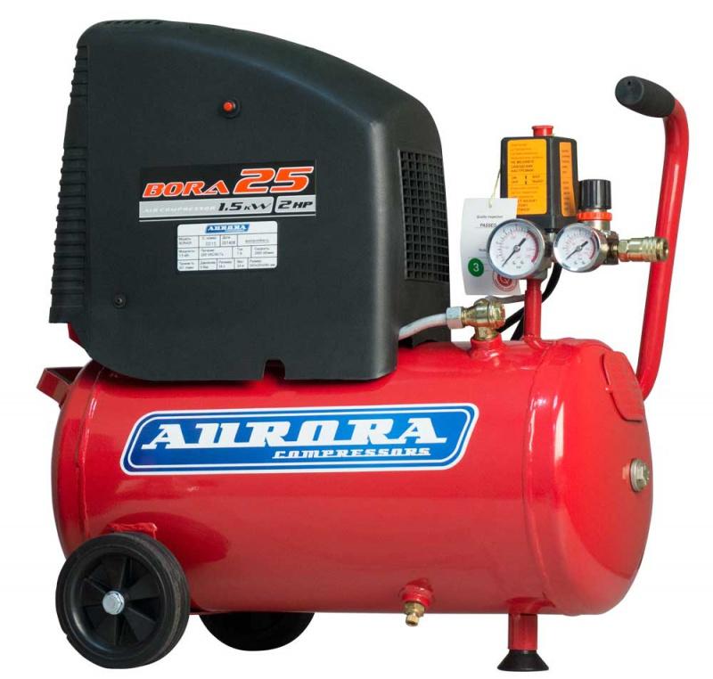 Воздушный компрессор Aurora BORA-25  воздушный компрессор aurora gale 50