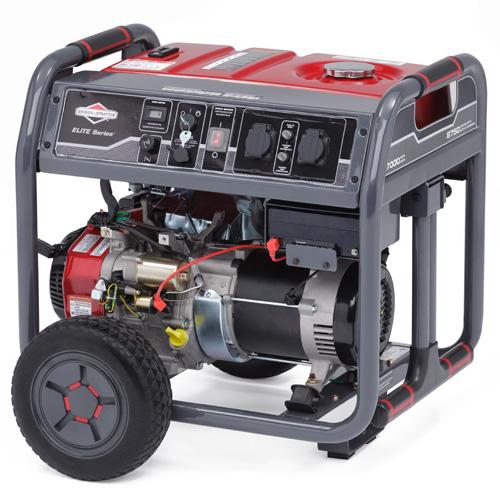 Подробнее о Генератор бензиновый Briggs&Stratton Elite 7500EA генератор инверторный бензиновый briggs