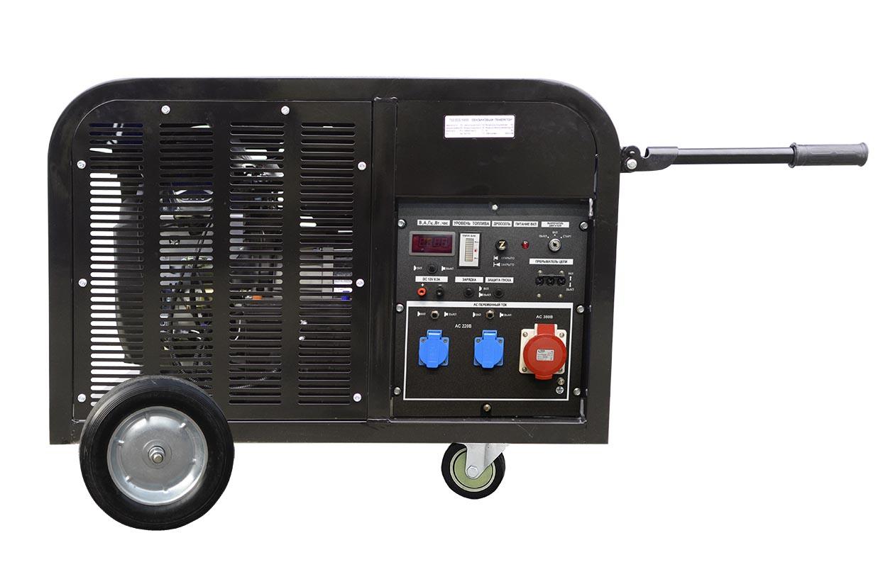Генератор бензиновый трехфазный TSS SGG 10000EH3