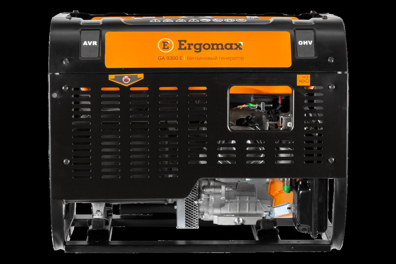 Генератор бензиновый Ergomax GA 9300 Е  бензиновый генератор ergomax ga 1200 00000092334