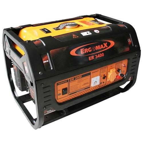 Генератор бензиновый Ergomax ER 3400  комплект ergomax для er 2800 3400