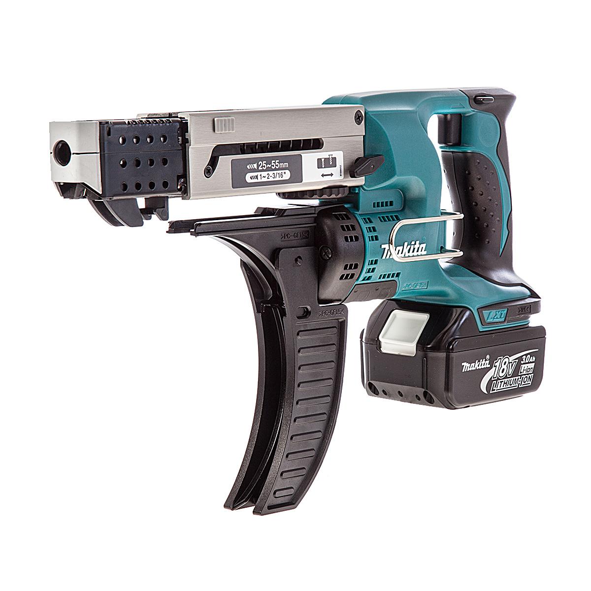 Аккумуляторный магазинный шуруповерт Makita DFR750RFE  цены