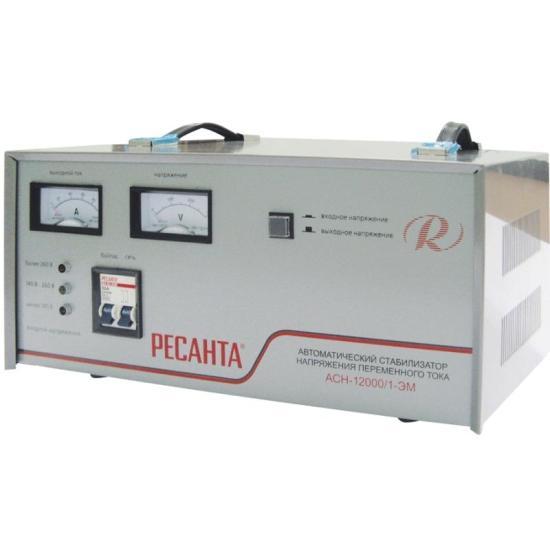 Стабилизатор Ресанта АСН-12000/1-ЭМ набор эм 02 шоколад 7ка021м 1148046