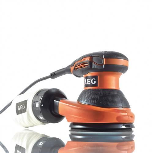 Эксцентриковая шлифмашина AEG EX 125 ES  цены