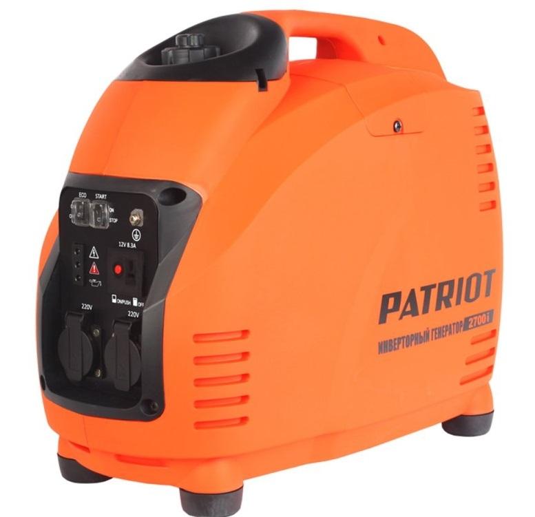 Генератор инверторный PATRIOT 2700i  инверторный генератор patriot 3000il 474101046