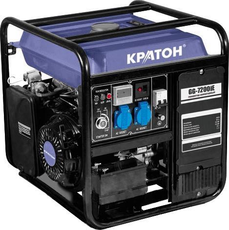 Инверторный генератор КРАТОН GG-7200iE
