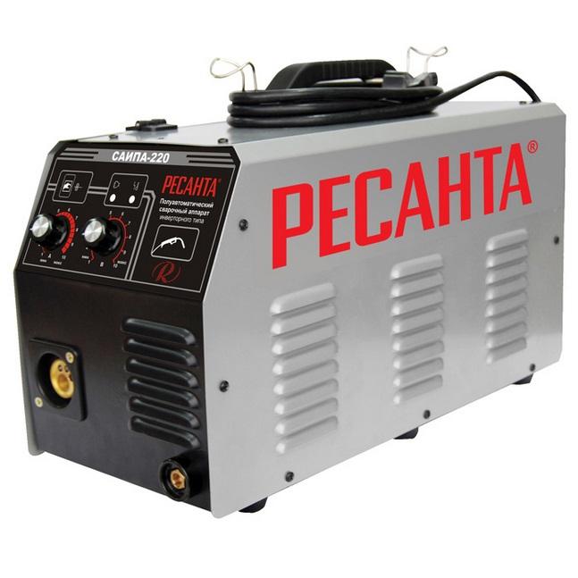 Подробнее о Сварочный аппарат инверторный п/а Ресанта САИПА-220 сварочный аппарат